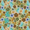 upholstery fabric - in bloom - olive