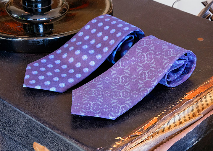 Henry Bucks Silk Ties