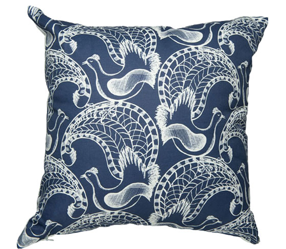 cushion_linen_lyrebirds_blue