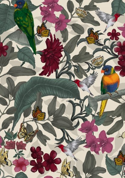 Beautiful fabric and wallpaper sutiable for residential and commercial interiors.