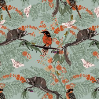 Beautiful fabric and wallpaper suitable for residential and commercial interiors.